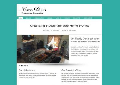 Home organization and space design company gets a big start-up boost with a new website