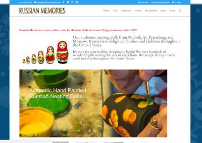 Handcrafted Russian folk art sold locally and online with this affordable website.