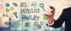 Website Builder icon - plan for Web Development